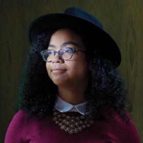 A photo portrait of Nhia Solari '19