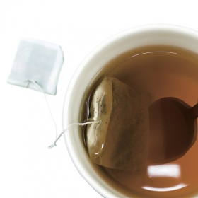 A cut of tea.