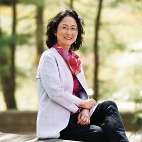 Portrait of Professor Katharine Moon