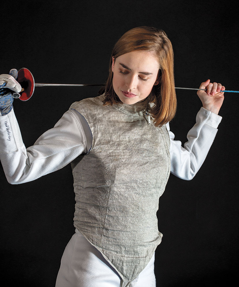 2018: Fencer Taylor Hood '18
