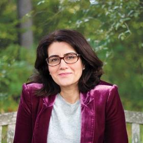 A photo portrait of Diana Abouali '93