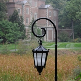 A photo of the iconic Wellesley lamppost