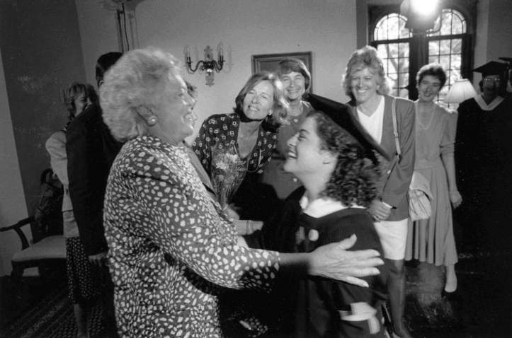 When Mrs. Bush Came to Wellesley