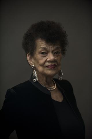 Portrait of Lorraine O'Grady '55