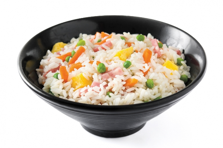 A bowl of fried rice