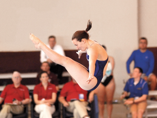 First-Year Crowned NCAA Diving Champ