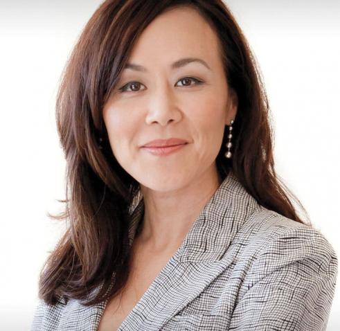 A photo portrait of Julia Yoo '92