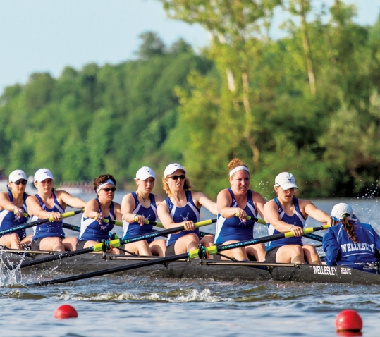 Crew Takes Fourth  at NCAA Championships