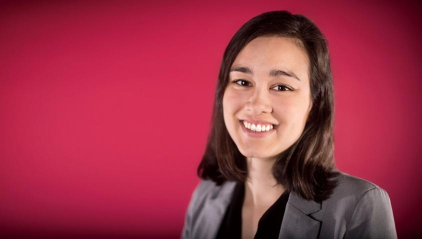 Portrait of Isabelle Chen '17