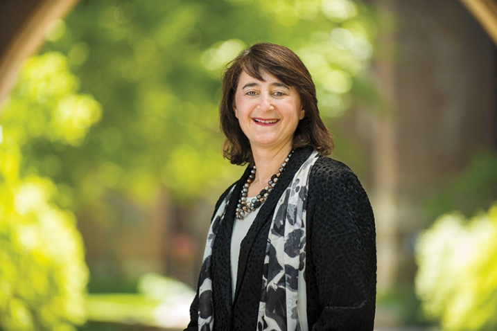 A photo of Martha Goldberg Aronson '89