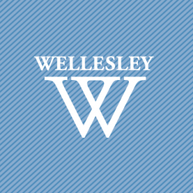 "An image of the Wellesley ""W"" logo"