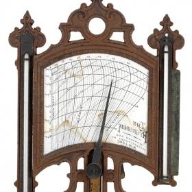 Antique wooden hydrodeik
