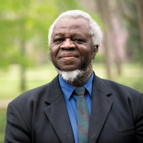 A photo portrait of philosophy professor Ifeanyi Menkiti