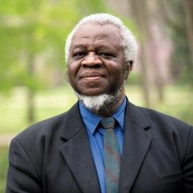 A photo portrait of philosophy professor Ifeanyi Menkiti