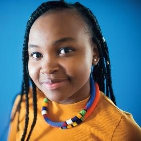Portrait of Sarah Nzau '18