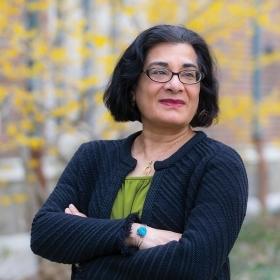 A photo portrait of Vanita Datta, French professor