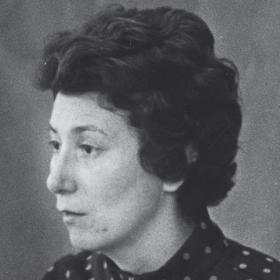 A photo of Dot Widmayer '52