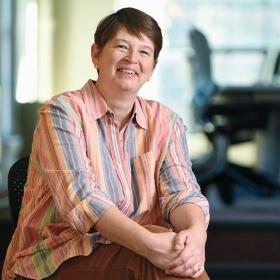 Portrait of Katie Hall '84