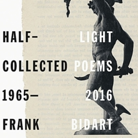 The cover of Half Light: Collected Poems 1965-2016 depicts a classical statue of Perseus holding aloft head of slain Medusa.