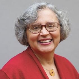 A head and shoulders photo of Cecilia Conrad '76